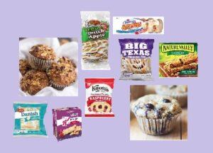 Breakfast/Pastry Munchies Box